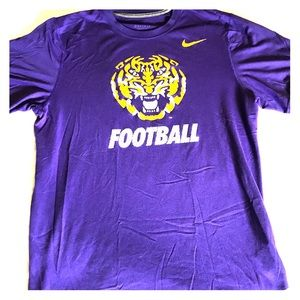 LSU TIGERS FOOTBALL NIKE DR-FIT